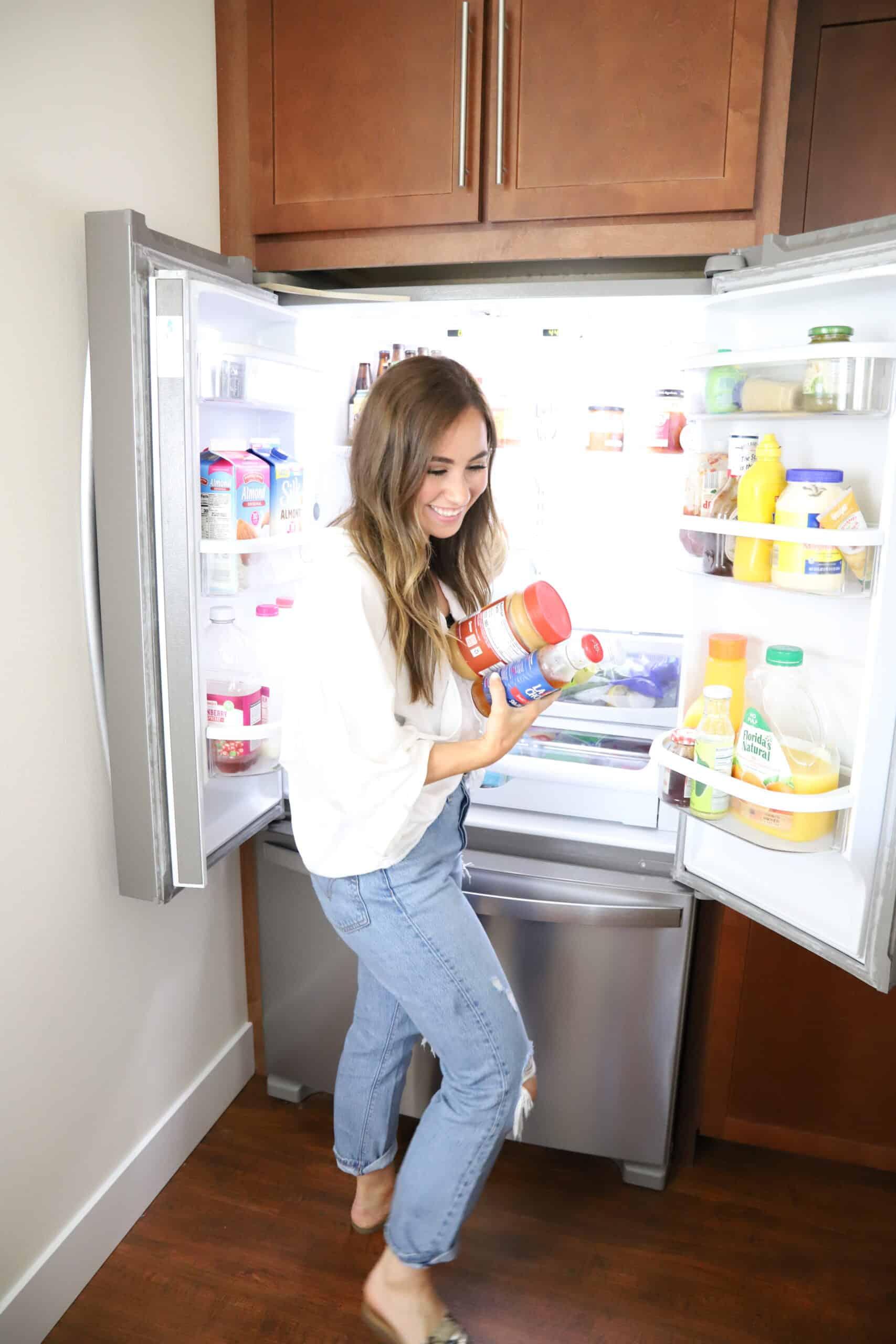 refrigerator organization