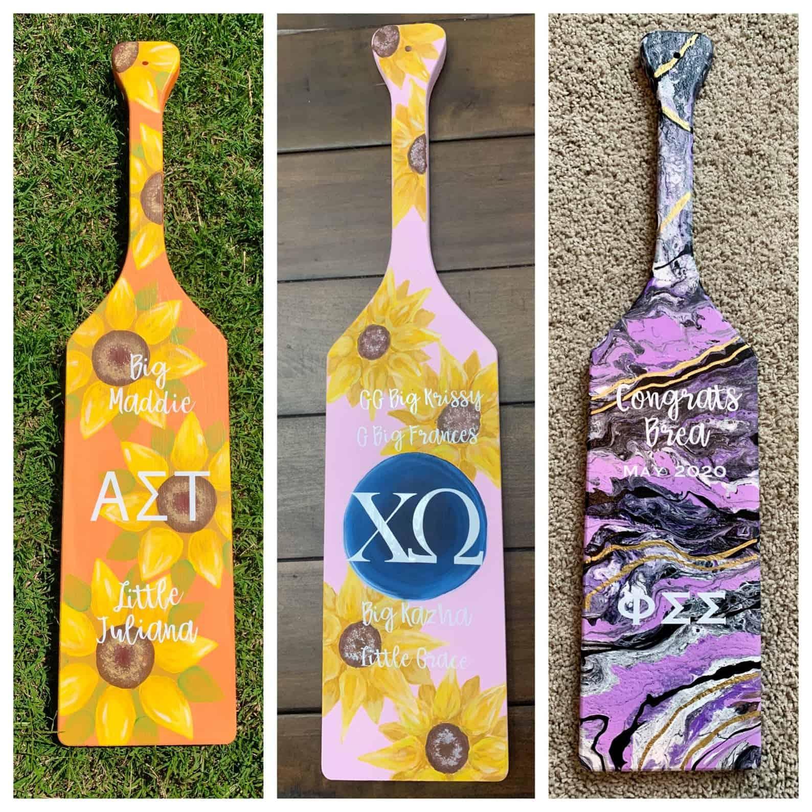 sorority paddles
