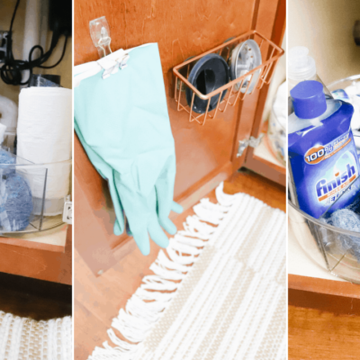 How To Organize Under The Kitchen Sink | Genius Tips + Hacks To Know For Kitchen Sink Organization