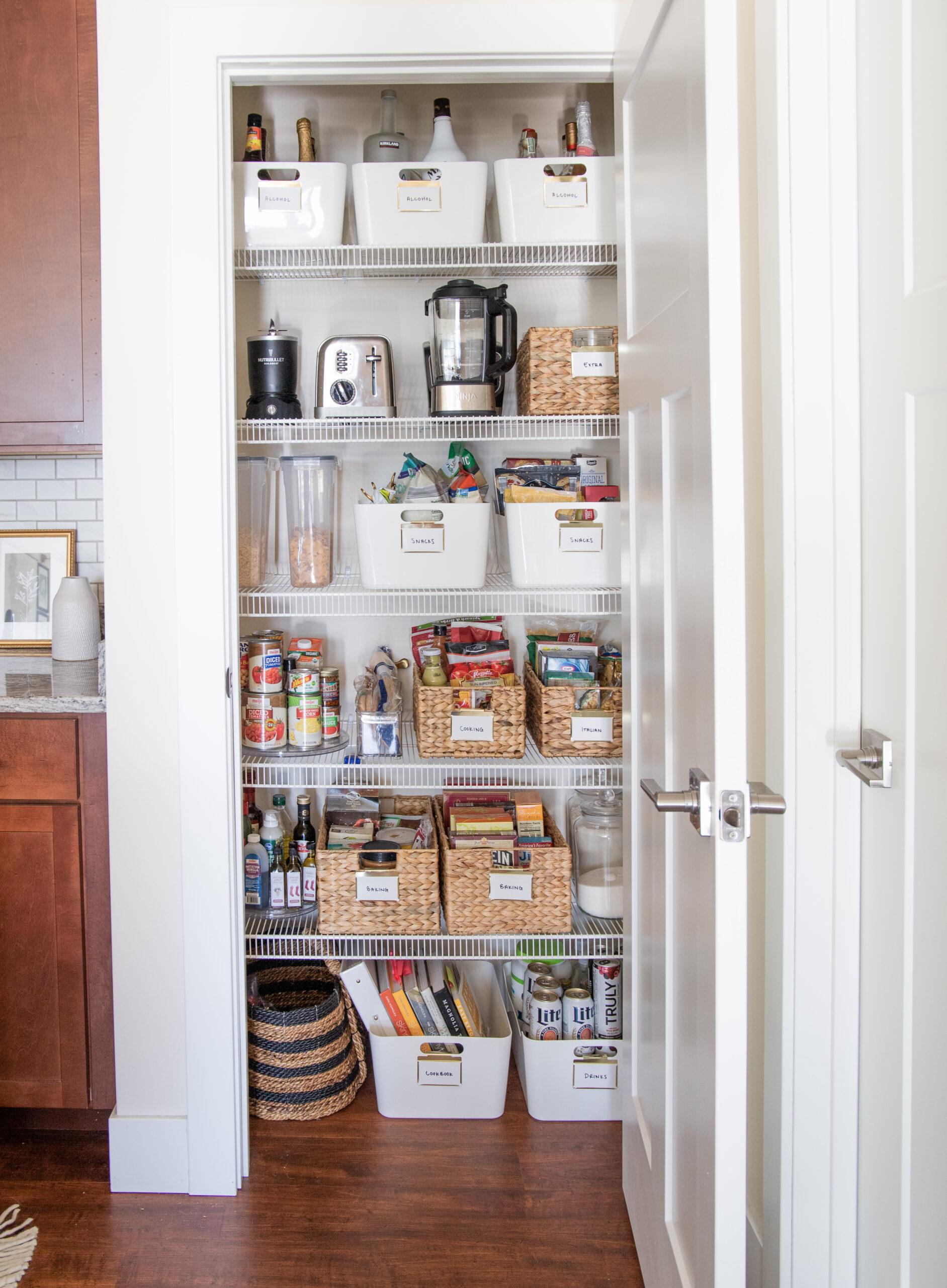 storage organization ideas pantry