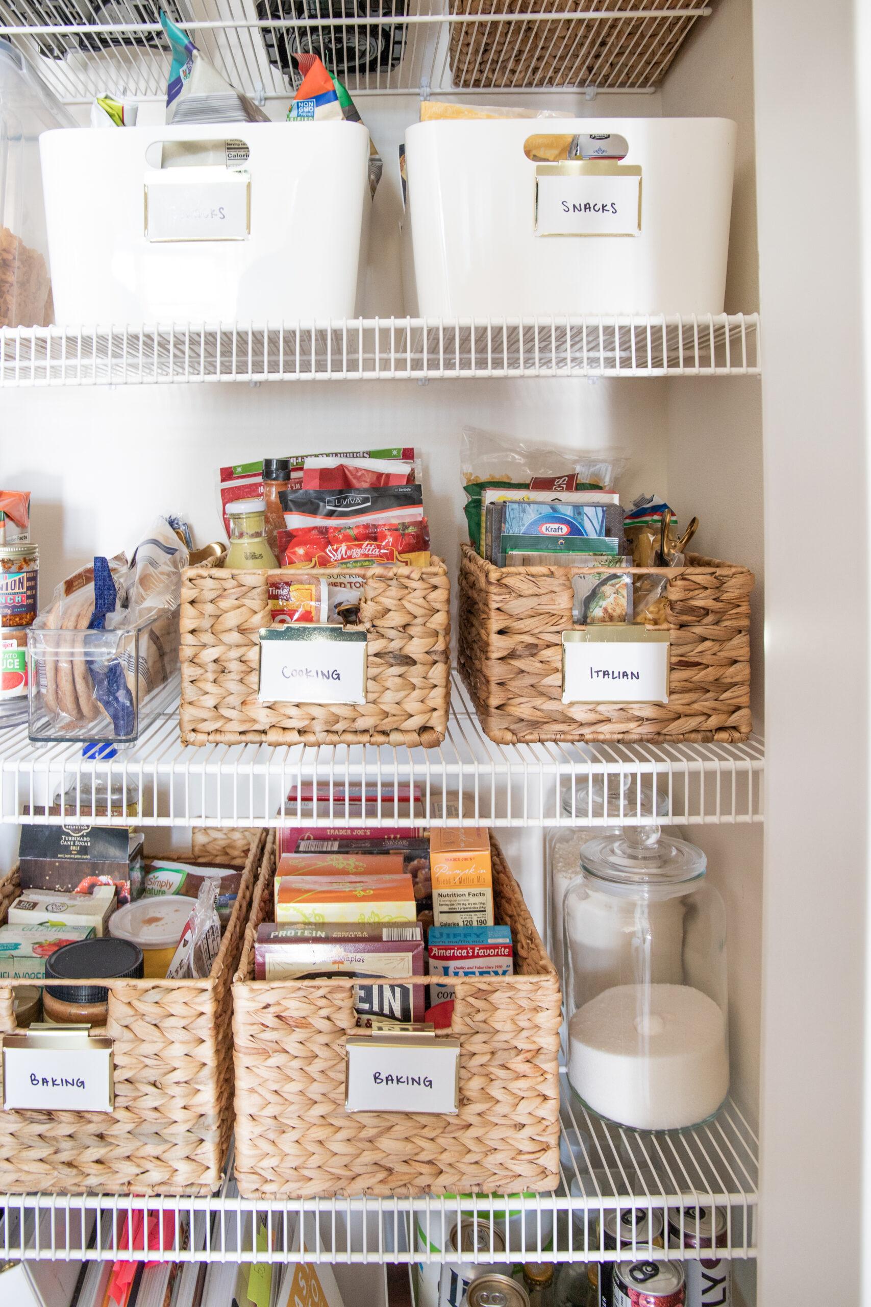 pantry storage organization ideas