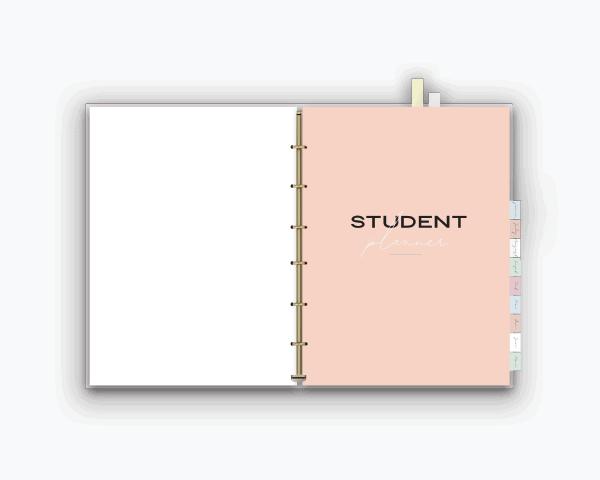 College Organization Binder