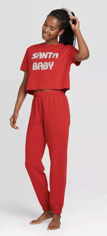 target womens christmas pajamas