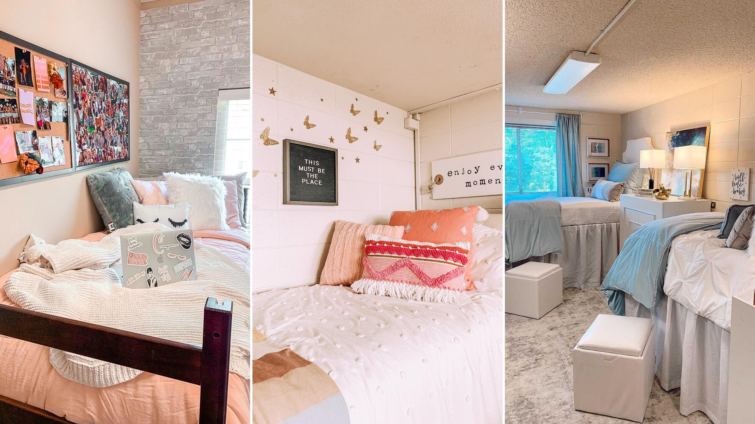 trendy dorm rooms