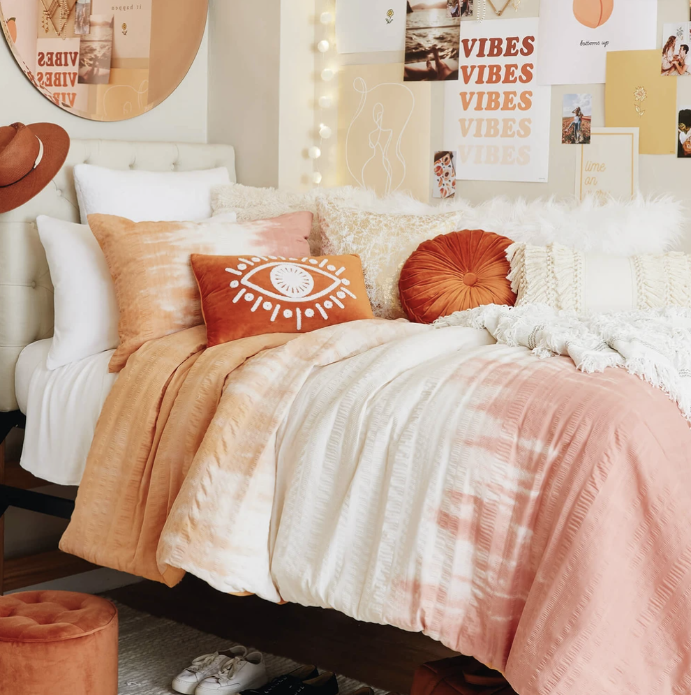 twin xl comforter sets for college