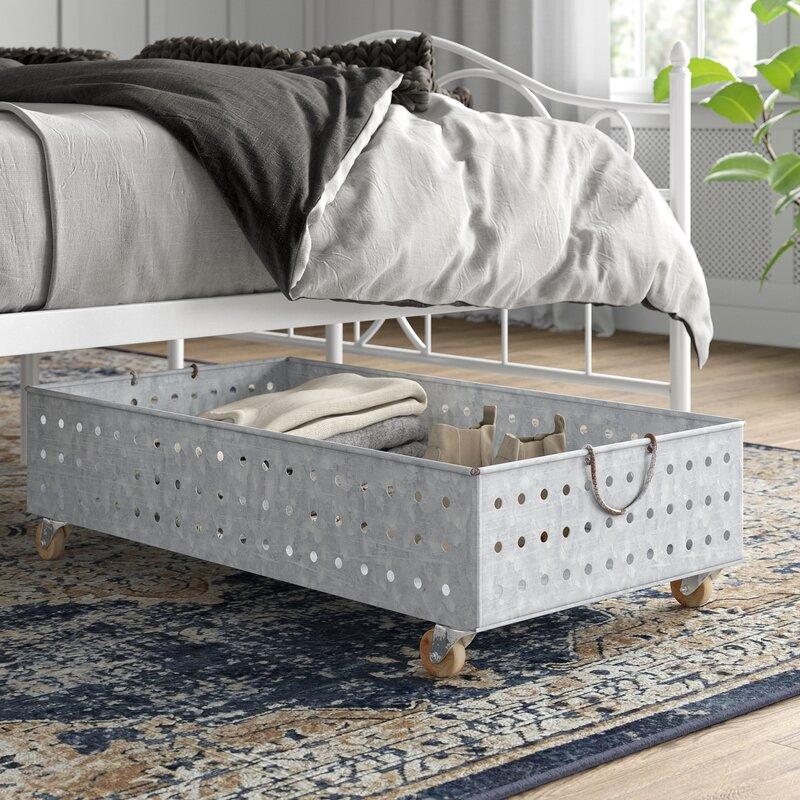under bed storage for dorm rooms