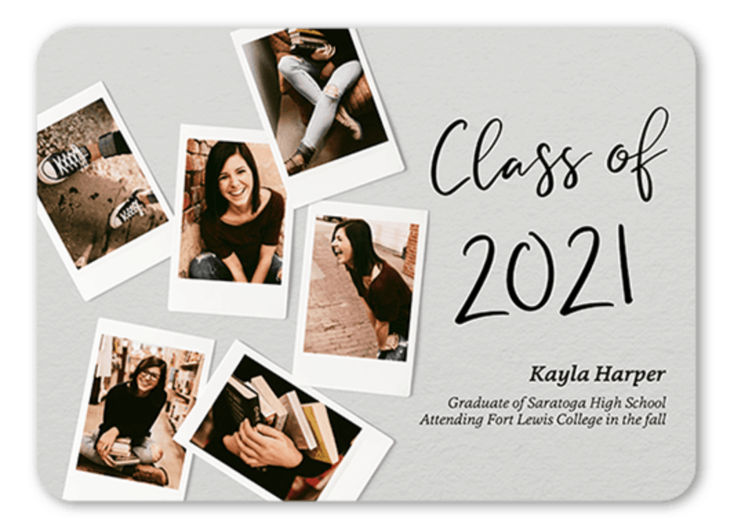 unique graduation announcements wording
