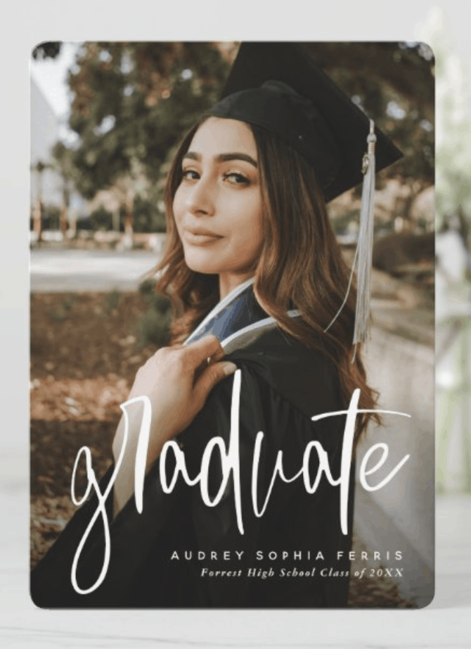 unique graduation announcements