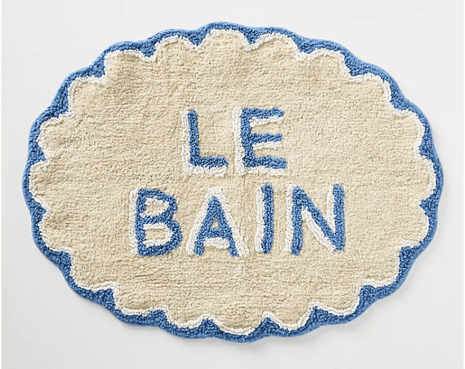 west elm bath mat