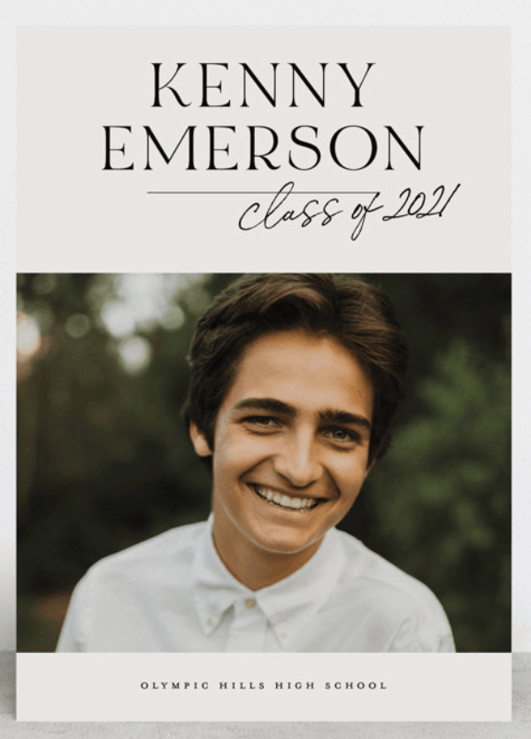what to say on graduation announcement