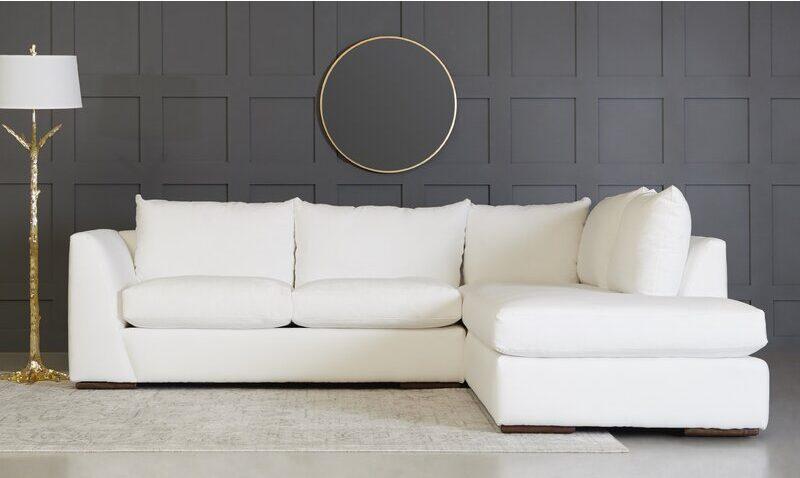 white couches cheap
